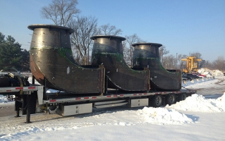 Truckload of Formed Suction Intakes