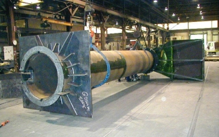 Vertical Axial Flow Pump Column and Formed suction