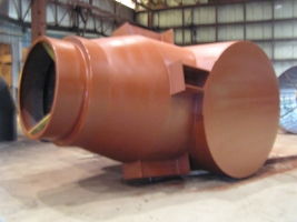Ductwork Refractory Furnace Plenum