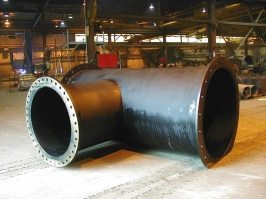 Pipe Tee Wye Branch Flange