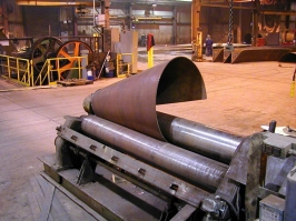 Rolled Steel Cone Plate Roll