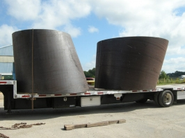 Rolled Steel Large Plate Cone