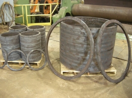 Rolled Carbon Steel Ring Stress Relieve