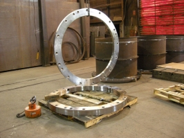 Steel Ring Pipe Flange Drilled