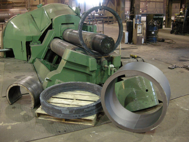 Steel Cylinders Rings Segments Cones