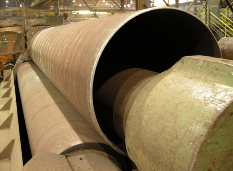 20Ft-Wide Rolled Steel Plate