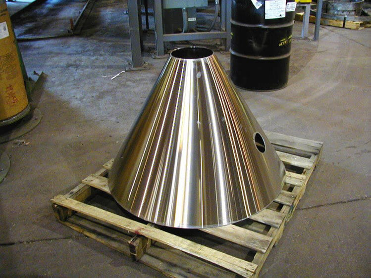 Stainless Steel Sheet Rolled Cone
