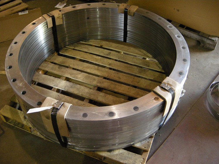 Steel Ring Flange Drilled Machined